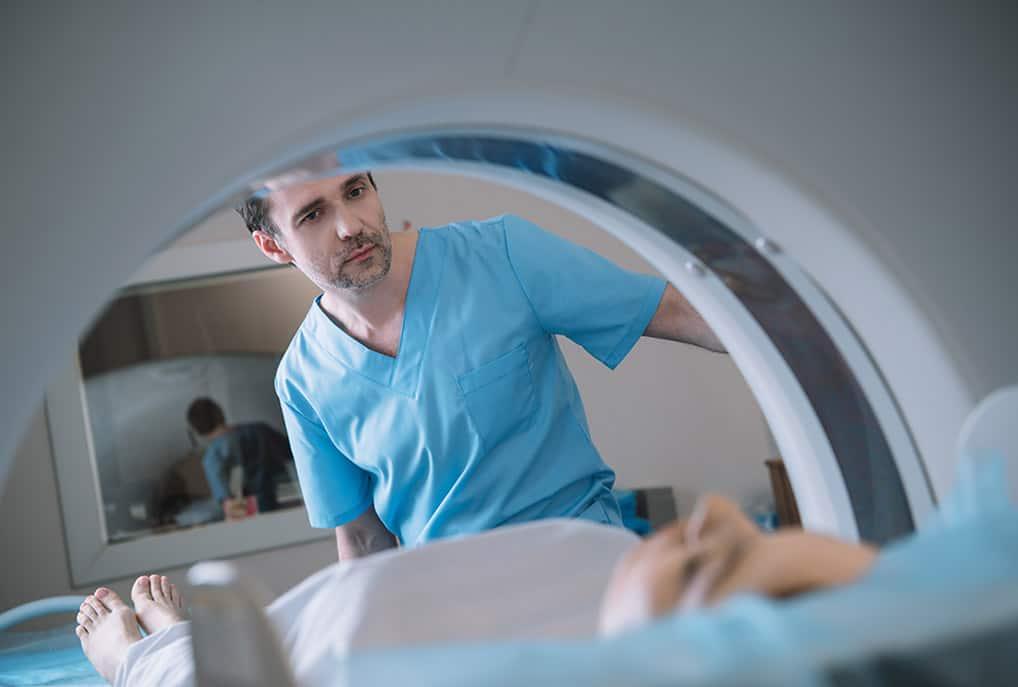 hospital-employed radiology practice
